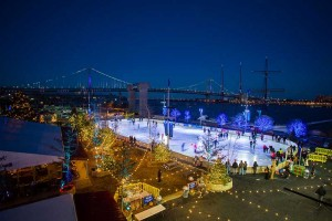 Blue Cross RiverRink Winterfest runs now through March 1 at RiverRink in Philadelphia.
