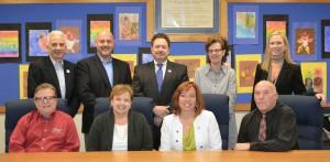 KCSD School Board Appreciation Month  2016 PR