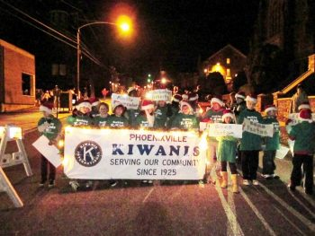 The Phoenixville Holiday Parade.