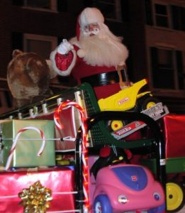 The West Chester Christmas Parade.